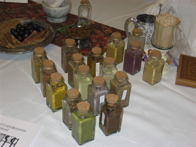 Ymanya Murray- Ancient and Medieval condiments