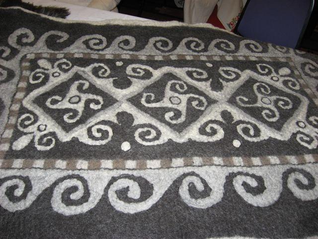 Anna Katherine von Teltge- Felted rug