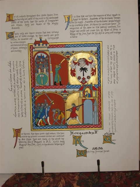 Ymanya Murray- Iron Hart scroll