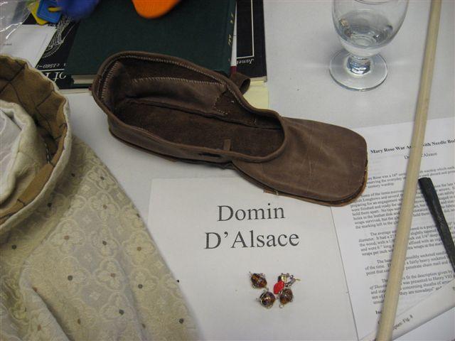 Domin d'Alsace- Kempten turnshoe
