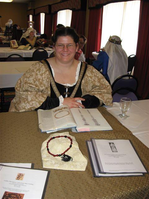 Fine inghen Chinaeda- Lampworking rosary