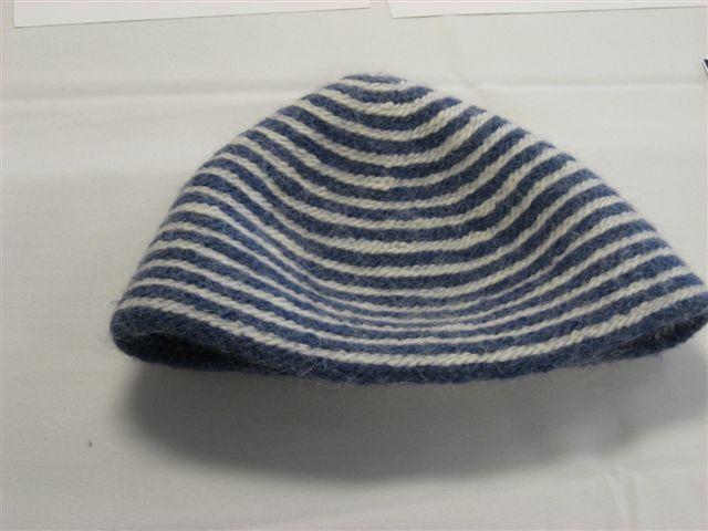 Gytha Karlsdotter- Naalbound hat