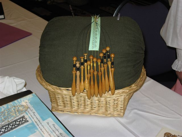 Rosamond de Preston- Period bobbin lace