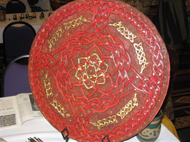 Angus Montgomery the Forrester- Scottish round shield
