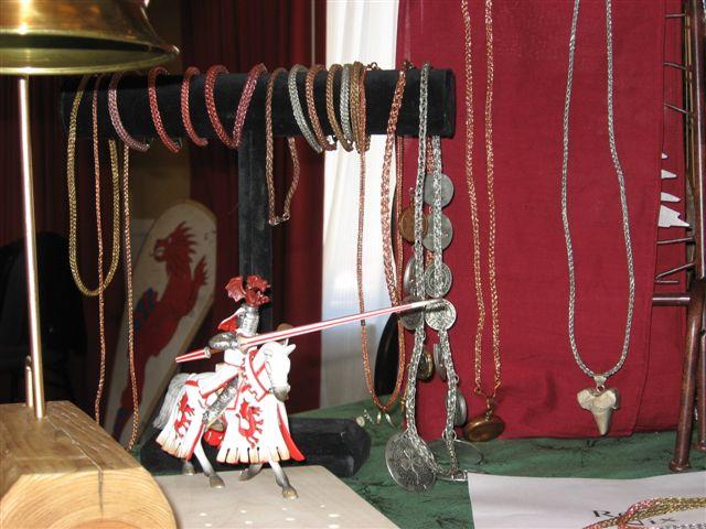 Renee Nix of Livingstone- Viking wire weaving