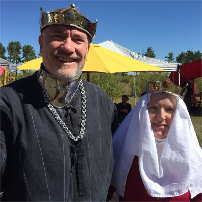 Sir Lothar vom Bergenwald and Baroness Lydia of the Pines s